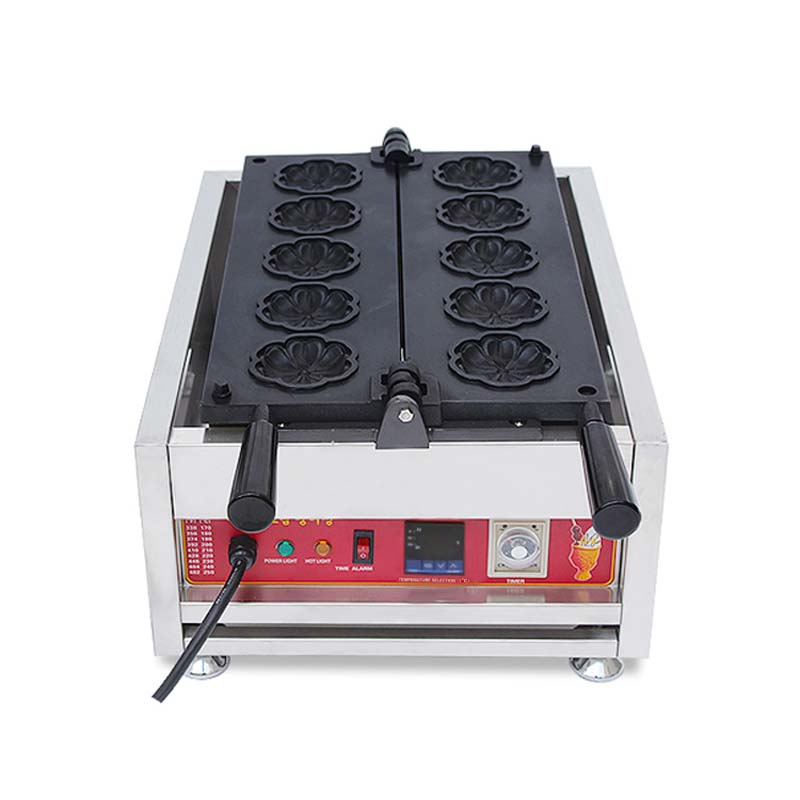 CE hot sale digital waffle machine animal shaped waffle maker machine with factory prices