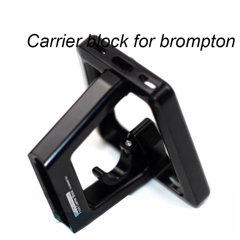 Ultra Lightweight Front Carrier Block For Brompton Aluminum Alloy CNC 56g защелка apecs 8069 01 g 00015994
