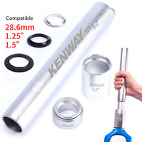 Steel Mountain Bike Fork Base Installation Tool Dead Flying Bicycle Headset Bottom Washer Setting Tool for 28.6 1.5 1.25 Fork