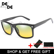 Polarized Yellow Driving Sunglasses at Night High Quality HD Vision Day