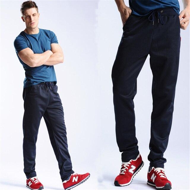 Pantalones de los hombres 2017 Nueva Primavera Pantalones Rectos Ocasionales Masculinos Push-Up Pantalones M-4XL