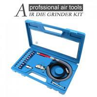 TORO Neue 16 in 1 High Speed 58000RPM Micro Air Grinder Kit Professionelle Pneumatische Werkzeuge für Schleifen/Carving/gravur-in Pneumatik-Werkzeuge aus Werkzeug bei