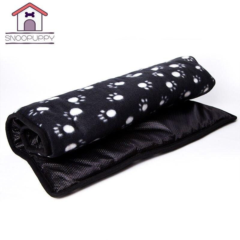 Pets Dogs Cats Bed Mats Blankets Soft Polar Fleece Cushion Bottom Waterproof Cat Beds Mats For Dog Pet Rest And Sleep  COO007