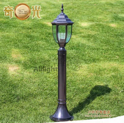 Black/Bronze 80CM LED Landscape L& Garden Lights Road Fitting Outdoor Lighting Pole E27 Socket 110V/220V Landscape Lighting-in Outdoor Landscape Lighting ... & Black/Bronze 80CM LED Landscape Lamp Garden Lights Road Fitting ...