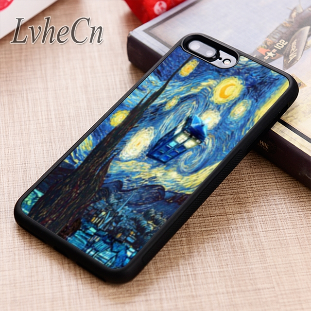 Diligent Lvhecn Tardis Doctor Dr Who Police Box Oil Printing Phone Case Cover For Iphone 6 6s 7 8 X Xr Xs 5s Galaxy S6 S7 Edge S8 S9 Plus Cellphones & Telecommunications