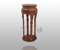 Precise Restoration Of The Palace Museum Collection Chinese Classical Furniture Burma Rosewood Incense Stand Carving Handicraft
