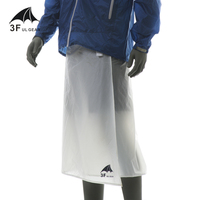 3f Ul Gear Cycling Camping Hiking Rain Pants Lightweight Breathable Kilt Ultralight Waterproof Rain Skirt 65g