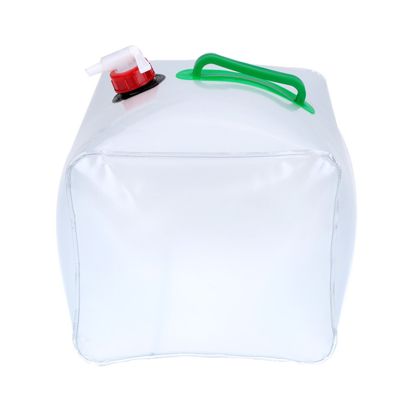 10L PVC Outdoor Folding Collapsible Drinking Water Bag Storage Car Water Carrier Container For Outdoor Camping Hiking Picnic Bag