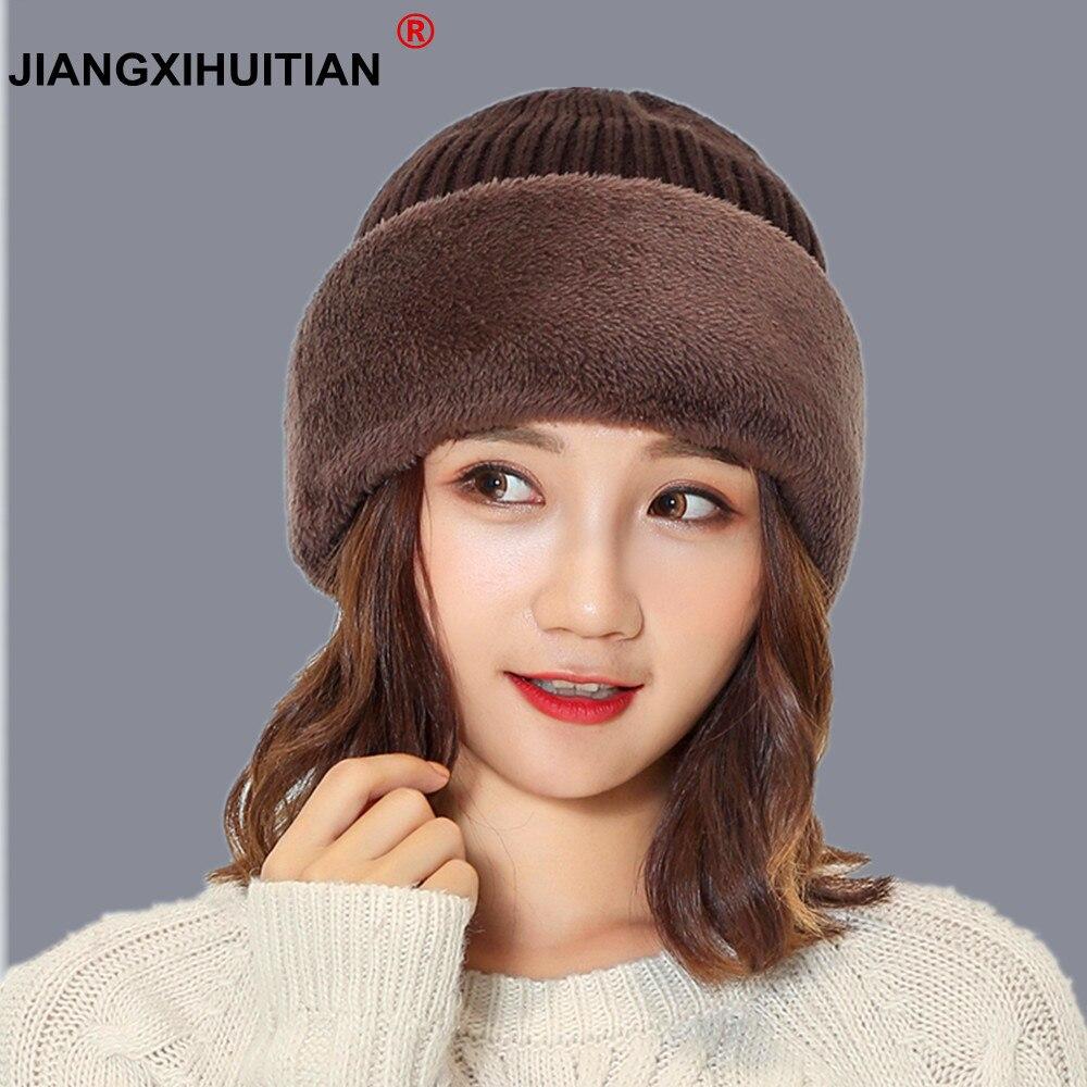 balaclava wool Knit Neck mask Hat Winter Keep Head Warm Knitted Hats Men Women Winter   Beanies     Skullies   Knitting Hedging Caps