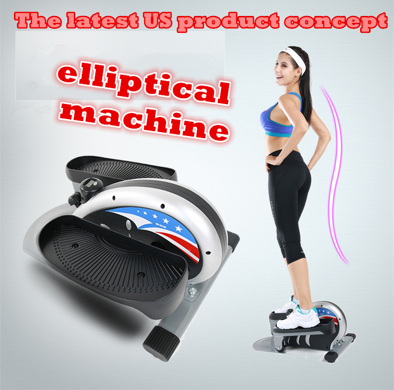 Elliptical Vs Bike For Weight Loss: Sinuode Mini Elliptical Machine Stepper Home Fitness