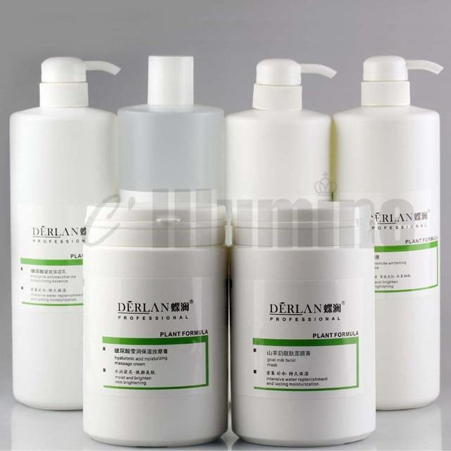 Hyaluronic Acid Moisturizing  Essence Cream Emulsion Beauty Salon Skin Care Products Set