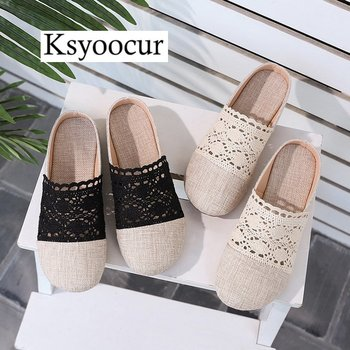 Brand Ksyoocur 2020 New Ladies Slippers Shoes Casual Women Shoes Comfortable Spring/autumn/summer Women Slippers Shoes X02 2