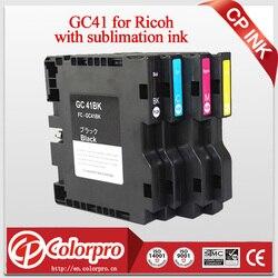 CP 4PK GC41 GC 41 cartouche d'encre de Sublimation de haute qualité pour Ricoh GC41 pour Ricoh Aficio SG3100 SG3110 SG3110DN SG3110D