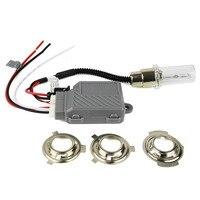 35W Motorcycle Hid Lights Xenon Kit H4 Hi Lo Xenon Moto Headlight Bulbs Universal BA20D H6M