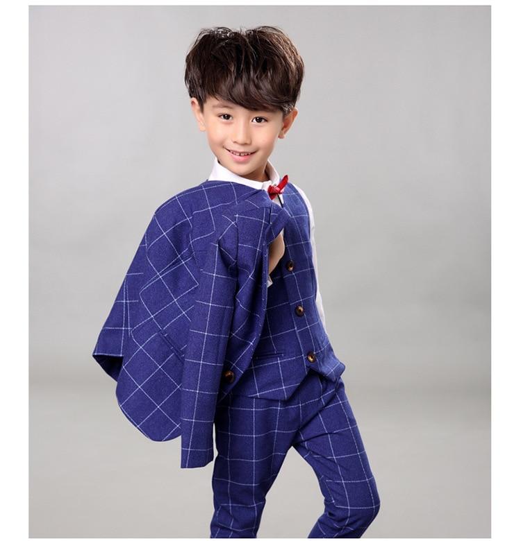 Marke Kinder Anzug Baby Jungen Schulanzüge Kinder Blazer Formelle - Kinderkleidung - Foto 4