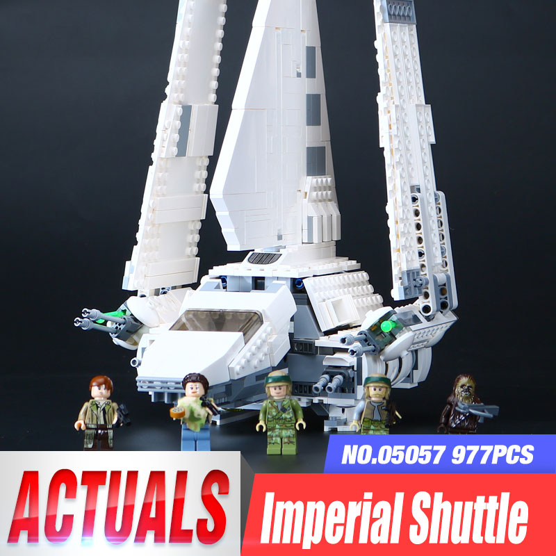 LEPIN 05057 977pcs New Lepin Star Plan IMPERIAL SHUTTLE TYDIRIUM Building Blocks Model Bricks Compatible With Legoing75094 lepin 05057 977pcs star series war new the legoing the fighting shuttle set model building kit blocks bricks toy gift with 75094
