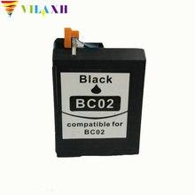 1PK For Canon BC 02 BC-02 ink cartridge BJ-100 200 200E 200EX 230 BJC-150 bjc 210 240 250 251 255 255SP Printer