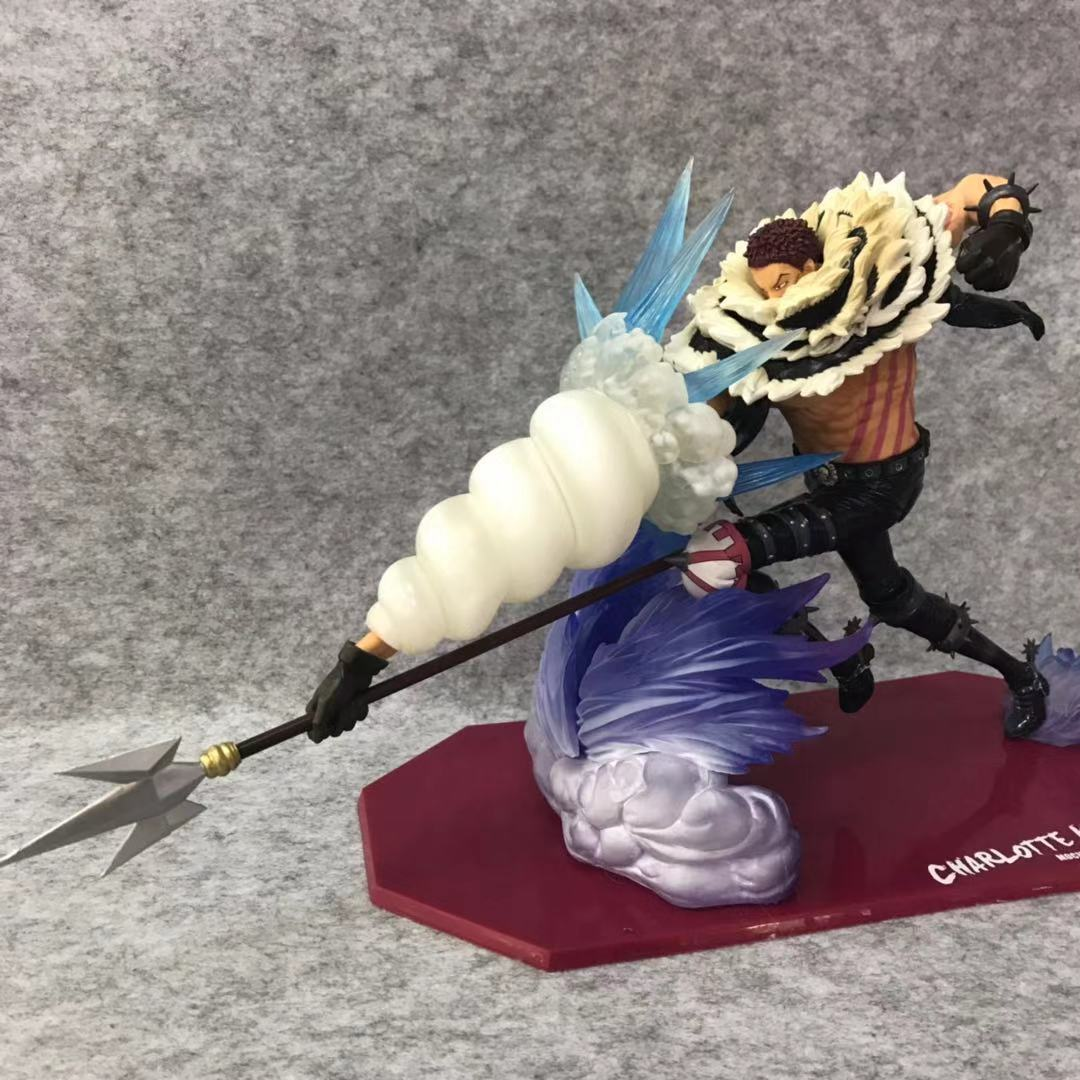 Figurine une pièce zéro Charlotte Katakuri figurine 1/8 échelle peinte Figure POP roi de l'artiste Charlotte Katakuri PVC figurine jouet