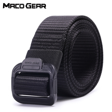 купить Nylon Tactical Belt Military Police Waist Support Sports Outdoor Swat Hunting Training Camping Combat Army Waistband Accessories дешево