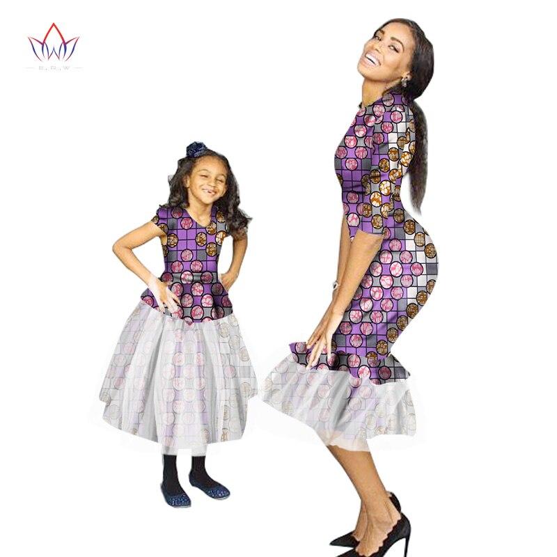 Sommar New Fashion Familj Matchande Kläder Märke Mamma och Baby - Nationella kläder - Foto 2