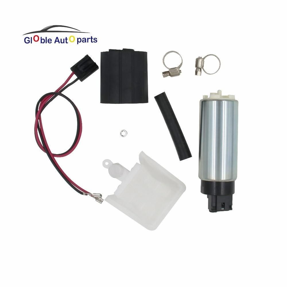 Genuine 255LPH HIGH Flow Pompa Elettrica Del Carburante Kit di Installazione GSS342 per Mitsubishi Mitsubishi L200 Infiniti aquila