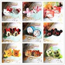 2pcs lot new fashion cute Cartoon animals hair ring hair rope hair accessories for women girl