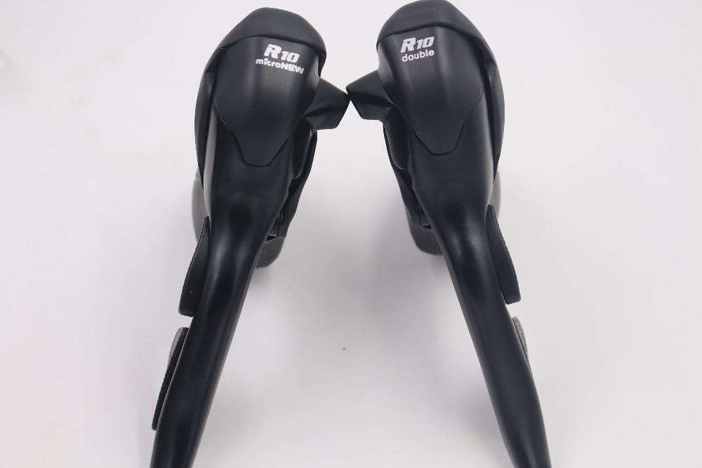 Micronew manette de vitesse vélo De Route Manettes de vitesse 10 vitesses pour Shimano Ultegra 2x10 105 5700 4600