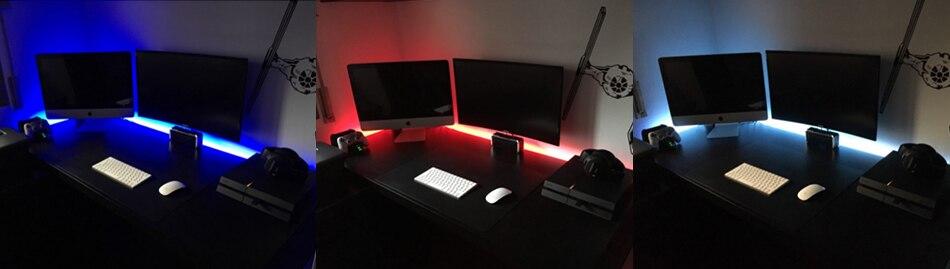 HTB1 QgeavvsK1Rjy0Fiq6zwtXXa3 USB Mini 3key LED Strip DC 5V Flexible Light 60LEDs 50CM 1M 2M 3M 4M 5M SMD 2835 Desktop Decor Screen TV Background Lighting