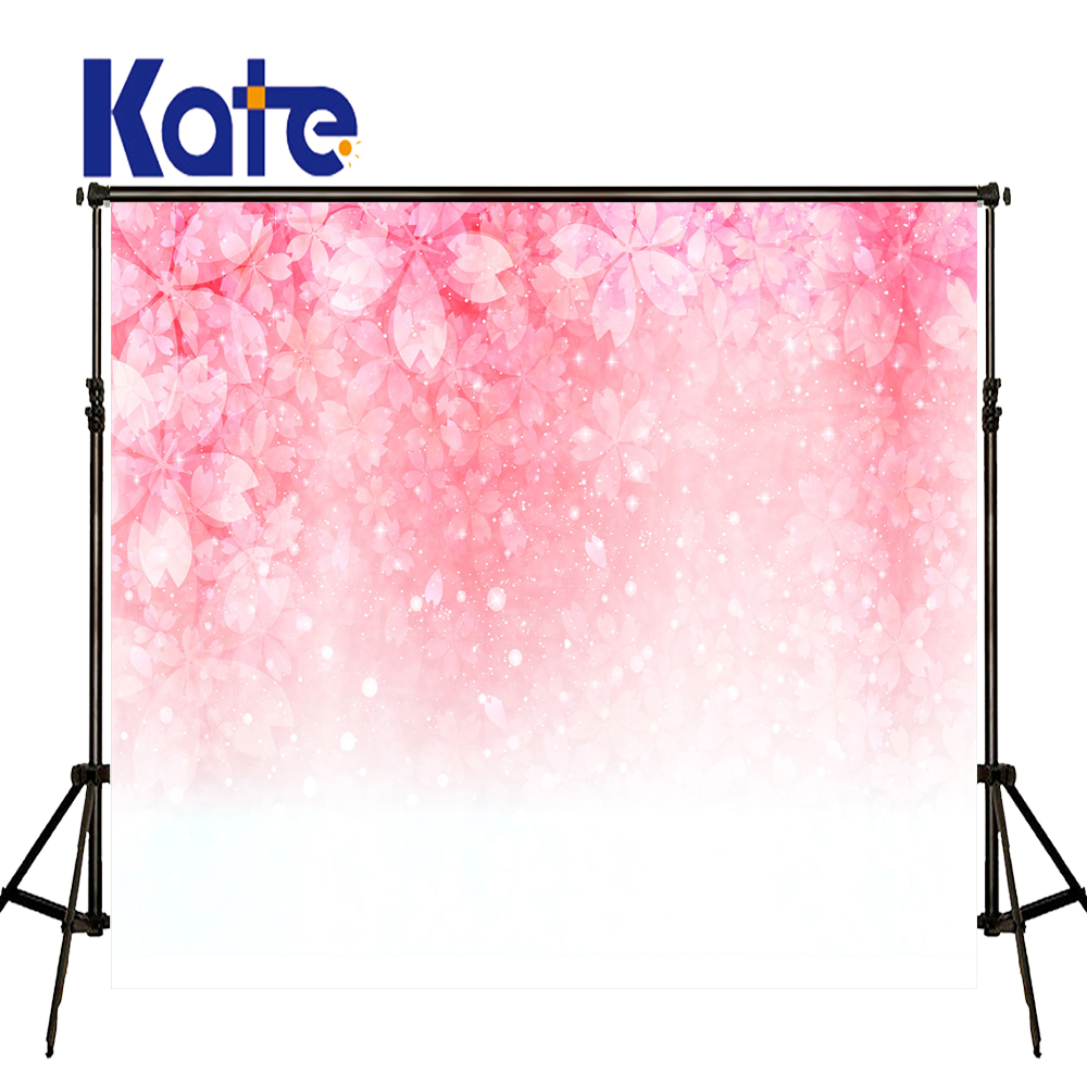 Kate Newborn Backdrops Pink Cherry Background Spring Photography Backdrops Large Size Seamless Photo for Photos studio shoot kate baby birthday background globos newborn photography background photography backdrops seamless photo for studio custom
