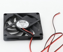 12V Cooler Fan for PC 2-Pin 80x80x10mm Computer CPU System Heatsink Brushless Cooling 8010 3D printer parts