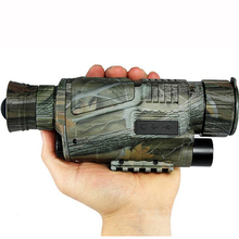 Sale Camouflage Zoom 5X40 CCD IR Digitale Monocular Night Vision Infrared Telescope 2m-200m Viewing Range Camera Video Function