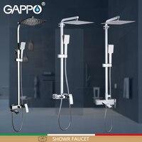 GAPPO Shower Faucets bathroom shower faucet bath shower mixer faucet taps rain shower sets waterfall bath faucet mixer taps