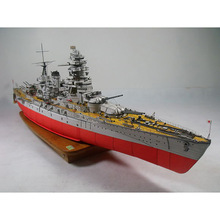 Paper Japan Nagato Class Battleship Warship Model Toys Handmade DIY creative show props decorate Collection Military Fans Gift