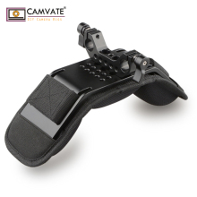CAMVATE Universal Stabilizer Shoulder Mount /Memory Foam Shoulder Pad With 15mm Rail Rod Clamp For DSLR Camera Support System