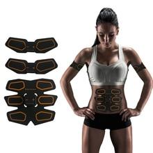ФОТО muscle stimulator ems stimulation usb charging muscle toner abs simulator toning belt workouts ems training device body massager