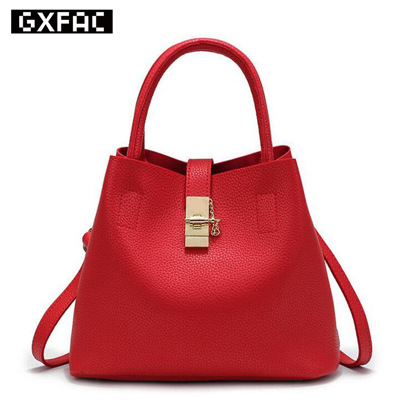 New Arrival Famous Brand Fashion Candy Women Bags Messenger Ladies Handbag PU Le