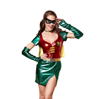 Superwoman Costume Set Classic Wonder Woman Cosplay Sexy Party Captain Hero Cosplay Clothing Halloween Costumes Superwoman