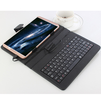 8 inch Tablet Octa Core Android 4G LTE mobile phone android MT6753 Ran 4GB Rom 32GB tablet pc 8MP IPS M1S Free Gift Keyboard