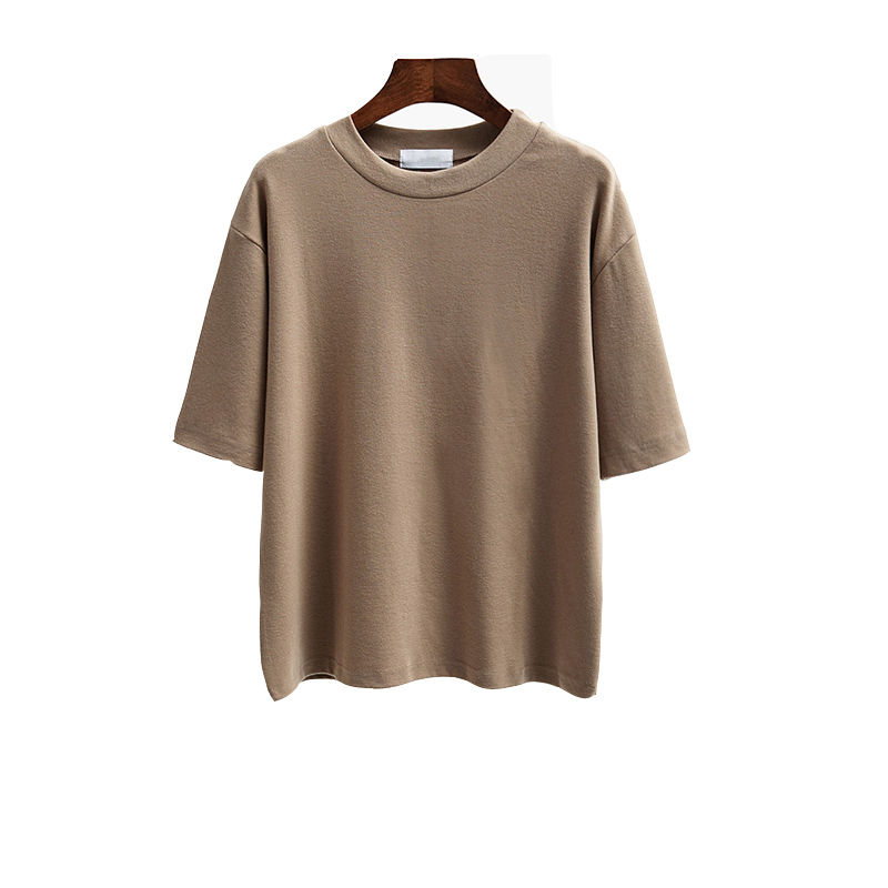 Women t shirt 6 color tops 2017 spring summer casual for Trendy t shirts for ladies