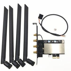 Image 4 - Broadcom bcm94360cd 1300 mbps 듀얼 밴드 802.11ac 데스크탑 pci e 무선 카드 pc wifi 어댑터 bluetooth 4.0