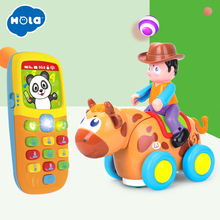 Купить с кэшбэком Eletronicos Action Animal Toys Puzzle Brinquedos Bebe Music Mobile Baby Toys Free Shipping Huile Toys 838B & 956