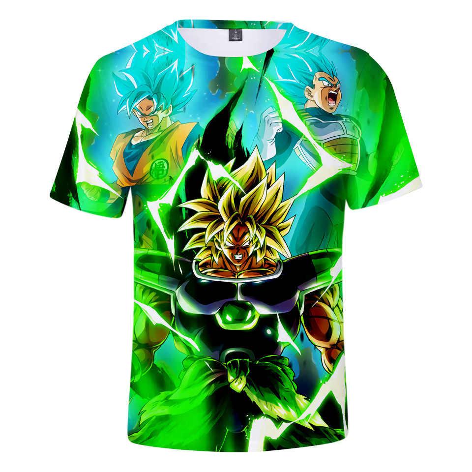 Новейшая 3D футболка с драконом и шариком супер сайян Dragon Ball Z DBZ Son футболка «Goku» чехол Capsule corp футболка vegeta для мальчиков, детские топы, рубашка