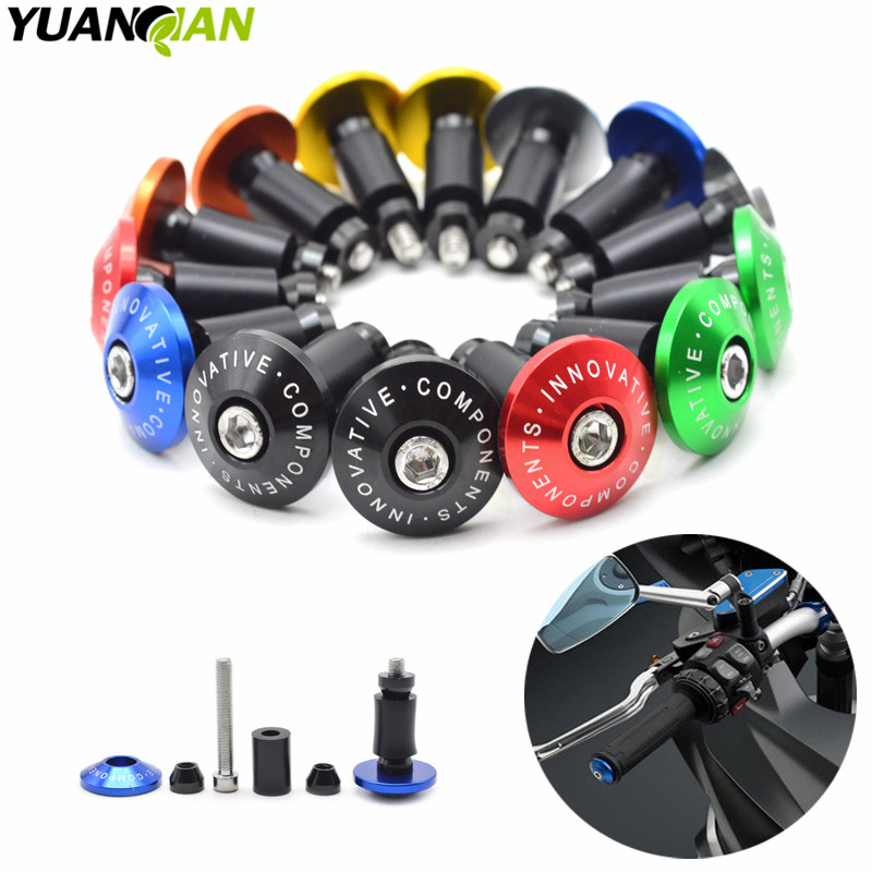 7/8''22 motorcycle handlebar cap motocross handle bar grips ends For Honda CB600F CB 600 F cb600f Hornet CBR600F CBF600SA купить