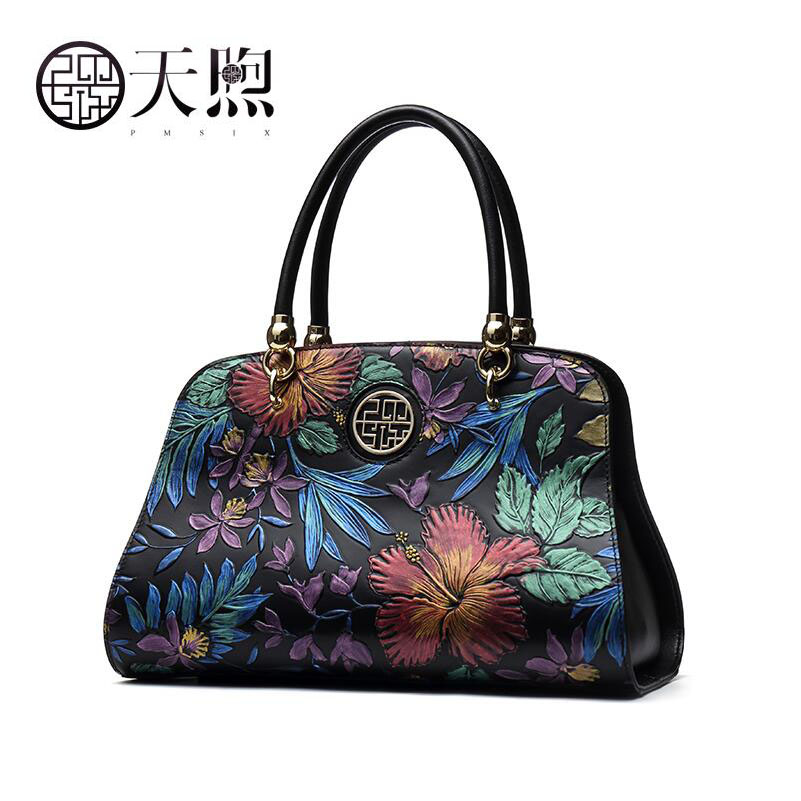 TMSIX Nouvelles femmes véritable sac en cuir célèbre marques de mode De Luxe D'origine conception en relief femmes sacs à main femmes sacs en cuir
