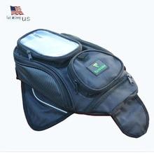Big screen Phone bags motorcycle bag waterproof moto Magnetic package mochila moto pierna bolsa motocicleta racing oil tank