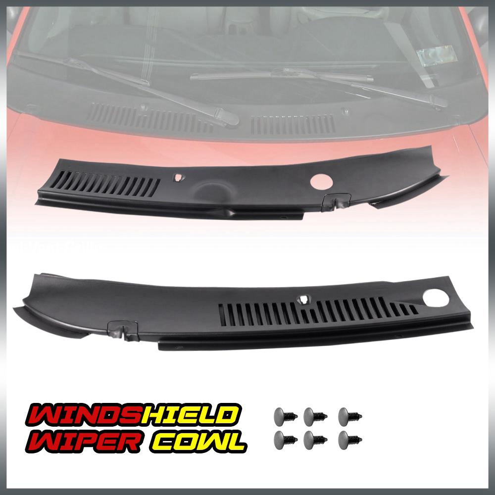 New For 99-04 Ford Mustang Improved Windshield Wiper Cowl Vent Grille Panel Hood