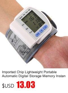 Gustala Automatic Digital Sphygmomanometer Wrist Cuff Arm Blood Pressure Monitor Meter Gauge Measure Portable Bracelet Device 7