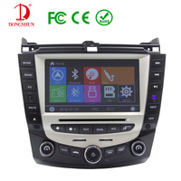 Car DVD GPS Navigation System For Honda Accord 200 2007 DVD With Bluetooth Radio Free Map