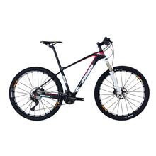 142*12 MM oś sztywna węgla rama roweru górskiego 650B kompletny rower MTB T700 rower górski z włókna węglowego 27 5er tanie tanio Gumowy odporność (medium biegów bez tłumienia) Mężczyźni 100 kg Pokój v hamulca Zwyczajne pedału 13 kg Rama twardego (nie tylny amortyzator)