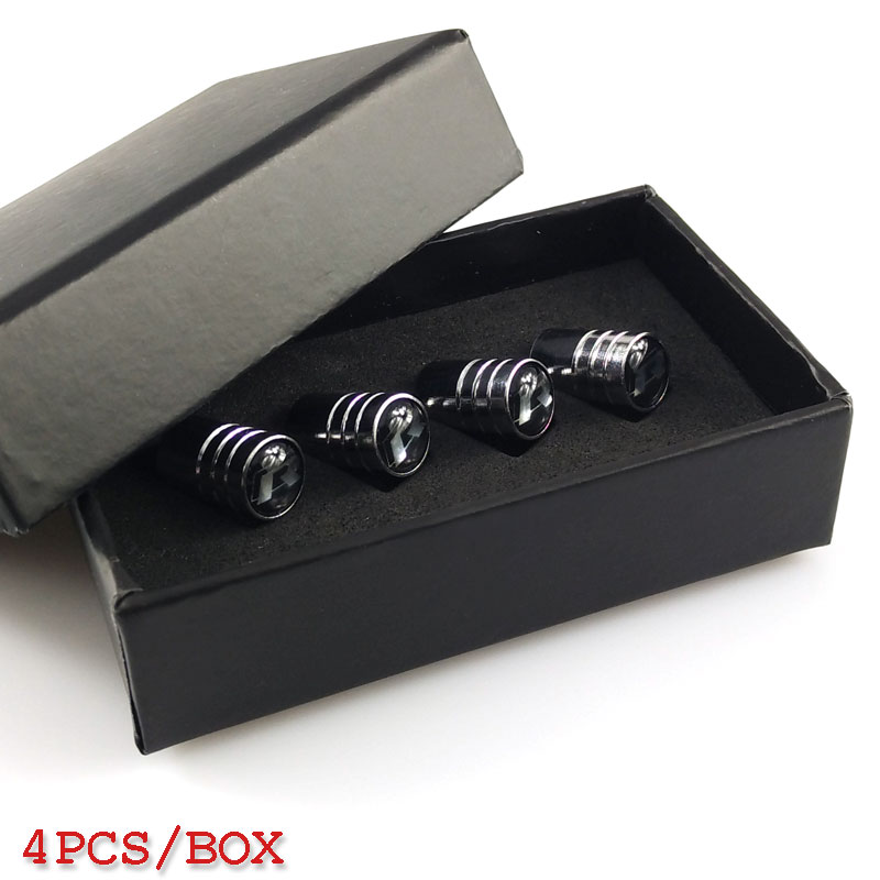 Car-stying Car Wheel Tire Valves Cover case for <font><b>Volkswagen</b></font> Scirocco CC <font><b>GOLF</b></font> <font><b>7</b></font> <font><b>Golf</b></font> 6 MK6 Polo GTI VW Tiguan car stying image